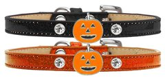 DOG COLLARS: Halloween Ice Cream Charm Dog Collar in Three Different Designs by Mirage Made in USA