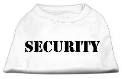Dog Shirts: SECURITY  Screen Print Dog Shirt in Various Colors/Sizes XS - XXXL - Mirage