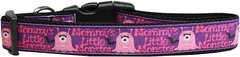 Dog Collars: Nylon Ribbon Collar by Mirage Pet Products USA - MOMMY'S LITTLE MONSTER