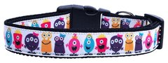 Holiday Dog Collars: Nylon Ribbon Collar by Mirage Pet Products - MONSTERS