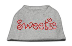 Dog Shirts: SWEETIE Rhinestone Dog Shirt in Various Colors & Sizes by Mirage