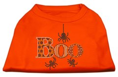 Dog Shirts: BOO Rhinestone Dog Shirt in Various Colors & Sizes by Mirage