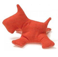 Dog Toys: Puppy Dog Toy Scot Scotty Shape Hemp Dog Toy USA