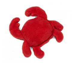 Dog Toys: Eco Crabby Crab Shape Dog Toy with Squeaker Eco-Friendly Material USA