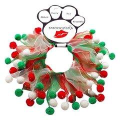 Smoochers Dog Collars: CHRISTMAS FUZZY WUZZY Smoocher Dog Collar