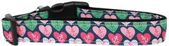 Nylon Dog Leashes: Anchor Candy Hearts Dog Leash Mirage Pet Products USA