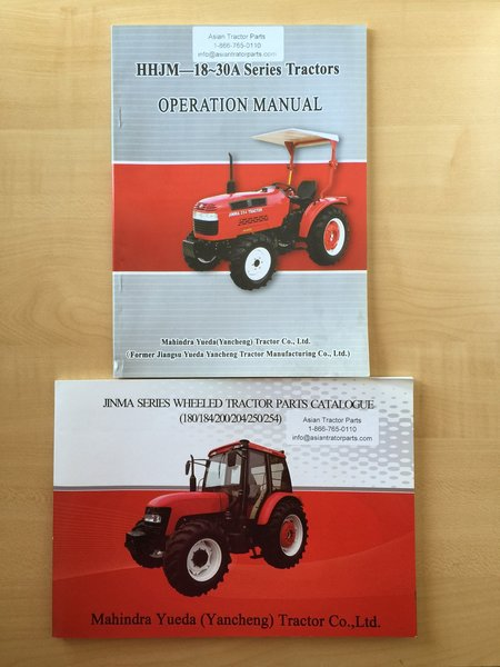Agracat Tractor Parts : Jinma series manual asian tractor parts