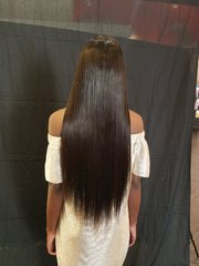 8A 250% Density Full Lace Human Hair Brazilian Virgin Hair Straight