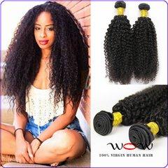 7A Moongolian Kiny Curly Virgin Hair