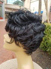 "100% Human Hair Wig 6"""