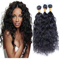 Brazilian Virgin Hair Water Wave Natural Wave Hair Wet and Wavy Ocean Unprocessed Virgin Brazilian Human Hair Bundles