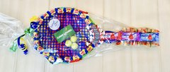 CANDY COVERED TENNIS RACQUET