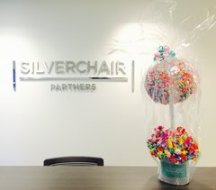 RECEPTION DESK DECOR