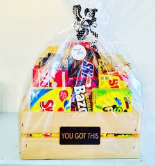 YOU GOT THIS CANDY CRATE / Gift Basket