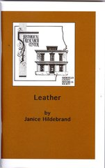 Leather, A History in Sheboygan County