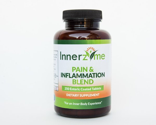 Innerzyme Pain Amp Inflammation Blend Systemic Enzyme