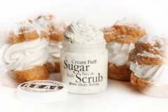 Cream Puff Sugar Scrub 5.5 oz