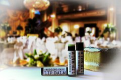 Organic, Vegan Wedding Cake Lip Balm .15 oz