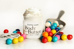 Bubblegum Body Butter, 4 oz glass jar
