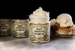 Organic Apple Pie Whipped Body Frosting, 4 oz glass jar