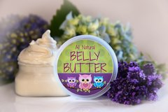 Belly Butter for the Mom to Be, 4 oz Vegan Organic Ingredients. Cruelty Free.
