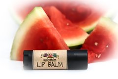 Organic Watermelon Lip Balm. Cruelty Free. Vegan .15 oz