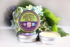 All Natural Lavender Breast Balm, 2 oz Vegan Organic Ingredients. Cruelty Free.