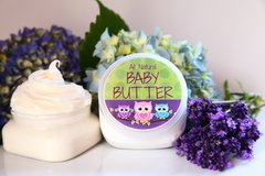 All Natural Baby Butter, 4 oz Vegan. Organic Ingredients. Cruelty Free.