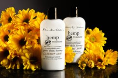 Organic Summer Sun Hemp Lotion, Vegan. 4.75 oz