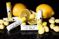 Organic Vegan Candied Lemon Drop Lip Balm .15 oz