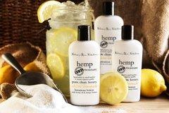 Organic Electric Lemonade Hemp Lotion, Vegan. 4.75 oz