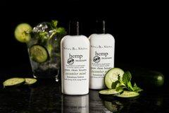 Organic Cucumber Mint Hemp Lotion, Vegan. 4.75 oz