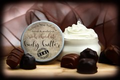 Rich Chocolate Body Butter, 4 oz Vegan. Organic Ingredients. Cruelty Free.