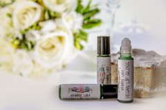 Organic Wedding Cake Flavored Lip Gloss, 10 ml. roller