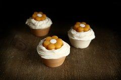 Organic Lemon Cupcake Soap