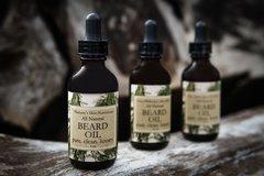 Black Amber and Lavender Organic Beard Oil, 1 fl oz.