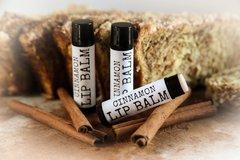 Organic Cinnamon Lip Balm. Vegan. Cruelty Free .15 oz