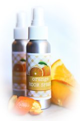 Fresh Orange Non Toxic Room Spray, Air Freshener and Deodorizer.