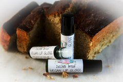 Organic Zucchini Bread Lip Gloss, 10 ml. roller