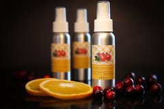 Cranberry Orange Non Toxic Room Spray, Air Freshener and Deodorizer.
