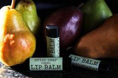 Organic Vegan Pear Lip Balm .15 oz