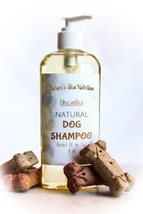 All Natural Dog Shampoo, 8 oz. Organic Ingredients. Vegan. Cruelty Free.