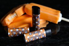Organic Orange Creamsicle Vegan Lip Balm, standard tube .15 oz