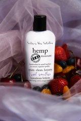 Organic Fruit Smoothie Hemp Lotion, Vegan. 4.75 oz