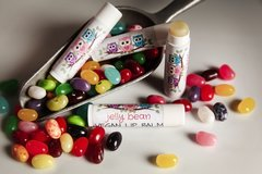Organic Jelly Bean Vegan Lip Balm .15 oz. Cruelty Free.