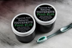 Fluoride Free All Natural Toothpaste, 4 oz