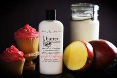 Organic Pink Frosting Shea Butter Vegan Lotion, 4.75 oz