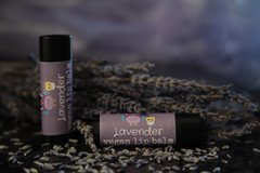 Organic, Vegan Lavender Lip Balm .15 oz