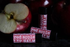 Organic, Vegan Red Apple Lip Balm .15 oz