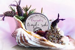 All Natural Sleepy Time Lavender Temple Rub, 2 oz. Organic Ingredients. Vegan. Cruelty Free.